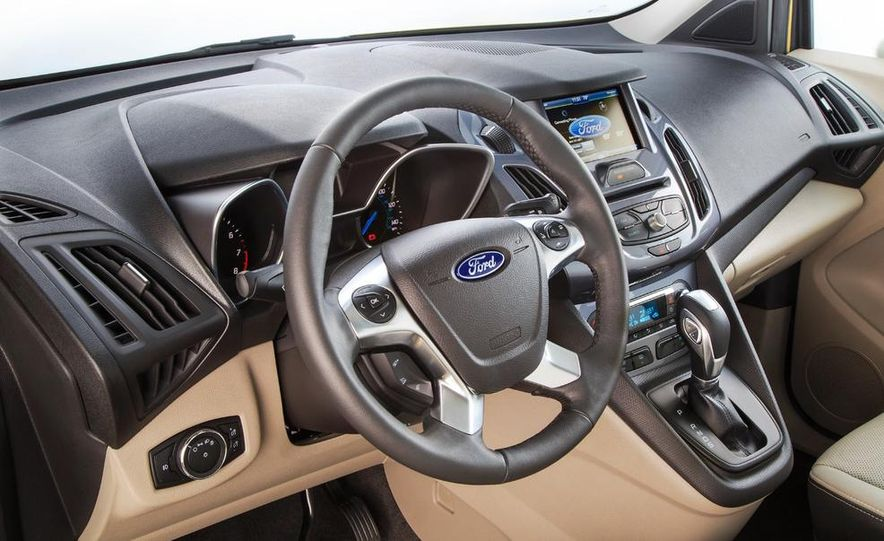 2014 Ford Transit Connect wagon - Slide 31