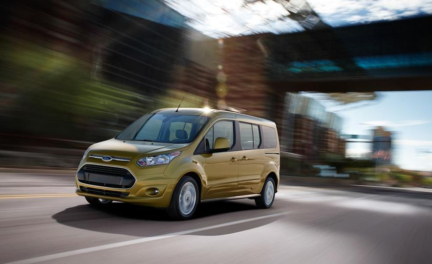 2014 Ford Transit Connect wagon - Slide 16
