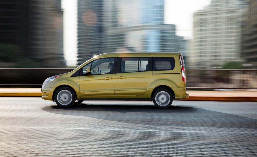 2014 Ford Transit Connect wagon - Slide 17