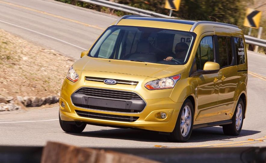 2014 Ford Transit Connect wagon - Slide 19