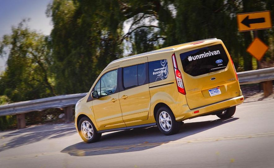 2014 Ford Transit Connect wagon - Slide 22