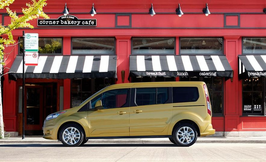 2014 Ford Transit Connect wagon - Slide 23
