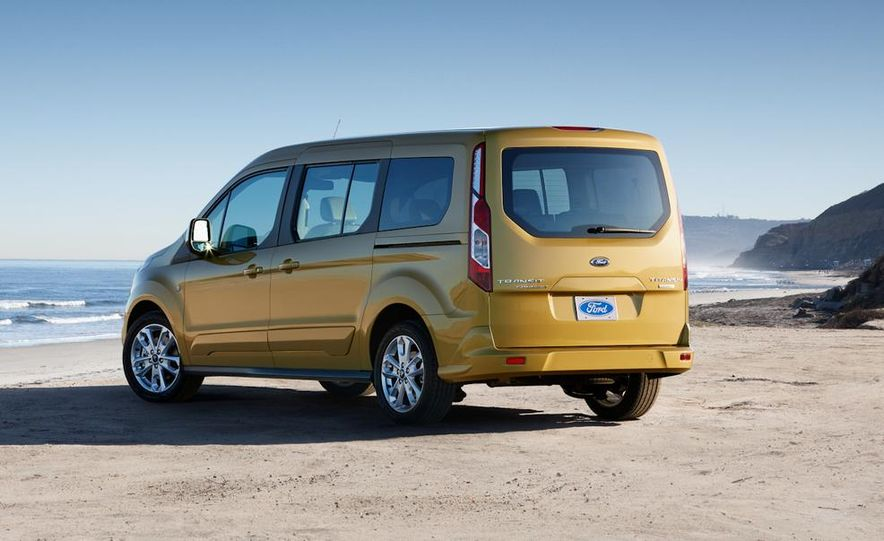 2014 Ford Transit Connect wagon - Slide 25