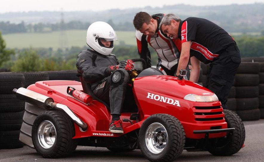 Honda Mean Mower - Slide 8