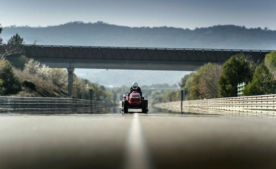 Honda Mean Mower - Slide 14