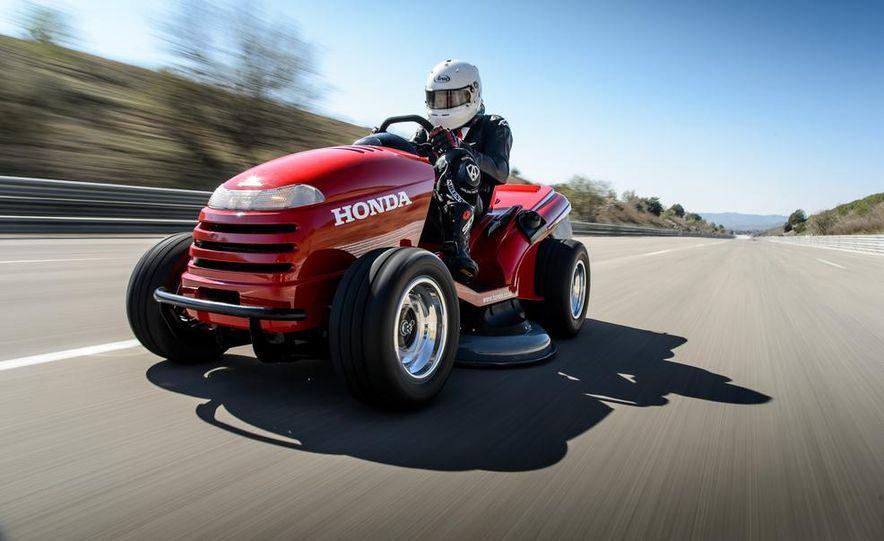 Honda Mean Mower - Slide 16