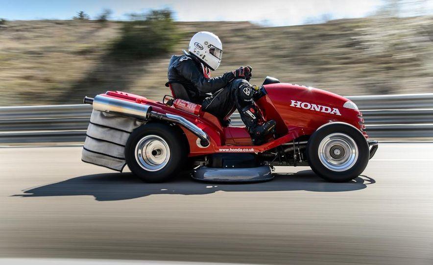 Honda Mean Mower - Slide 18