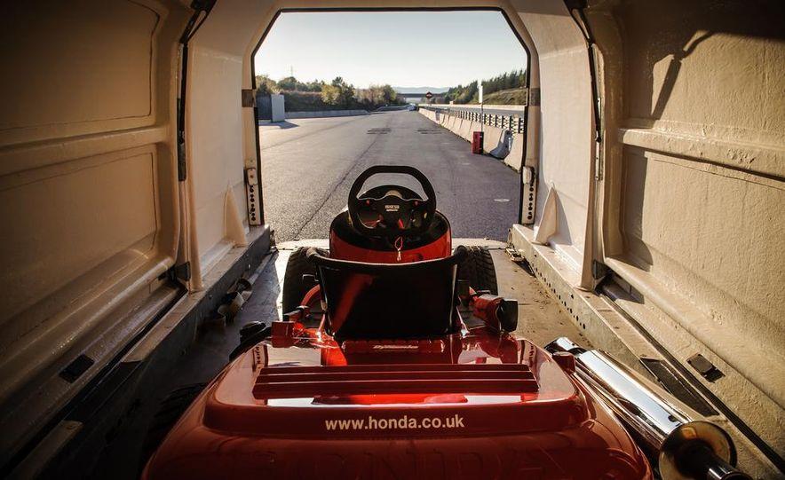 Honda Mean Mower - Slide 24