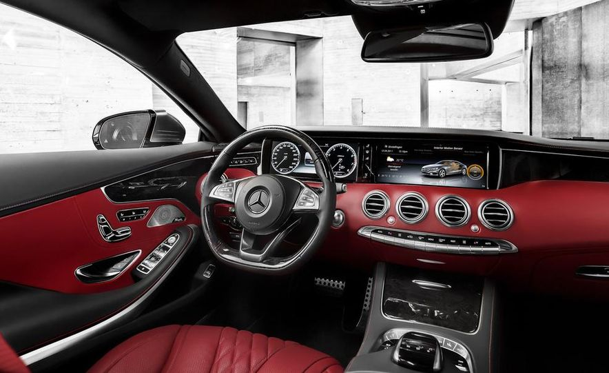 2015 Mercedes-Benz S500 4MATIC coupe - Slide 22