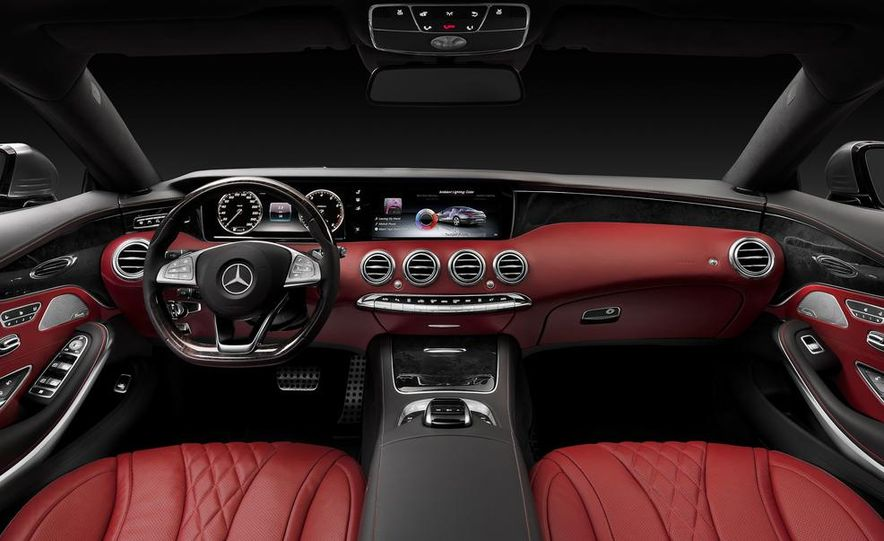 2015 Mercedes-Benz S500 4MATIC coupe - Slide 24