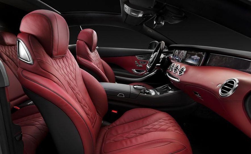 2015 Mercedes-Benz S500 4MATIC coupe - Slide 25