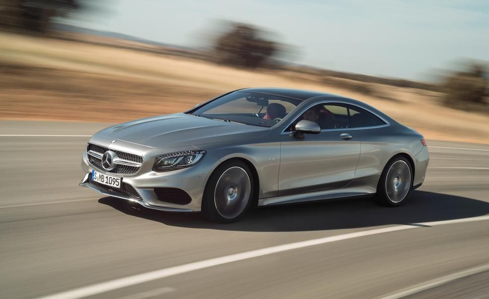 2015 Mercedes Benz S550 4MATIC Coupe
