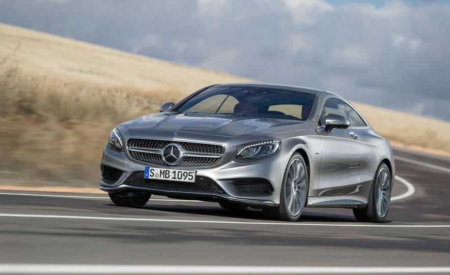2015 Mercedes-Benz S500 4MATIC coupe - Slide 3