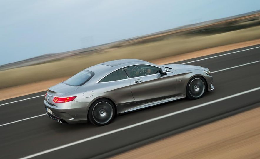 2015 Mercedes-Benz S500 4MATIC coupe - Slide 4