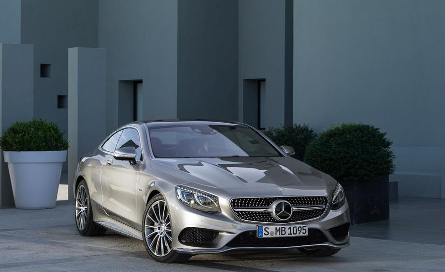 2015 Mercedes-Benz S500 4MATIC coupe - Slide 5