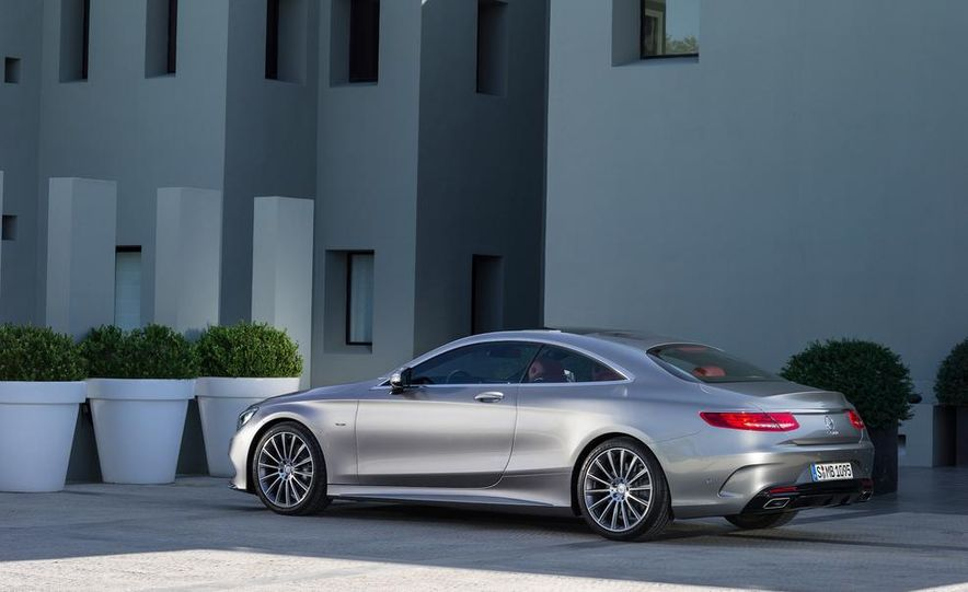 2015 Mercedes-Benz S500 4MATIC coupe - Slide 8