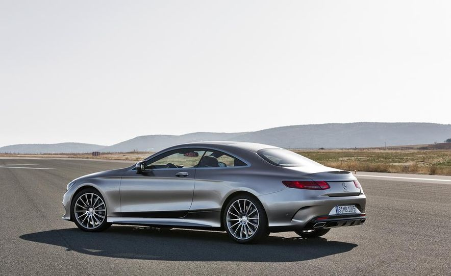 2015 Mercedes-Benz S500 4MATIC coupe - Slide 11