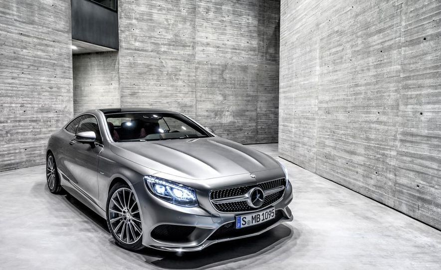 2015 Mercedes-Benz S500 4MATIC coupe - Slide 12
