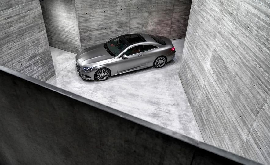 2015 Mercedes-Benz S500 4MATIC coupe - Slide 14