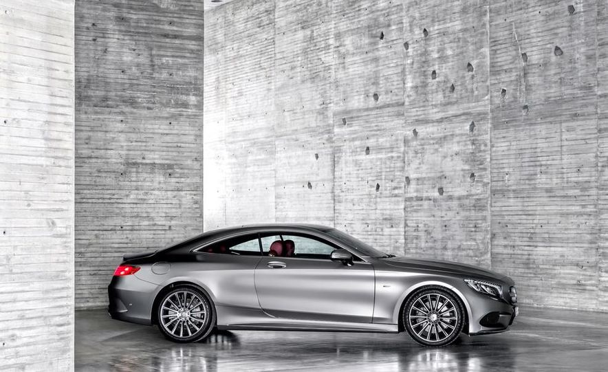2015 Mercedes-Benz S500 4MATIC coupe - Slide 15