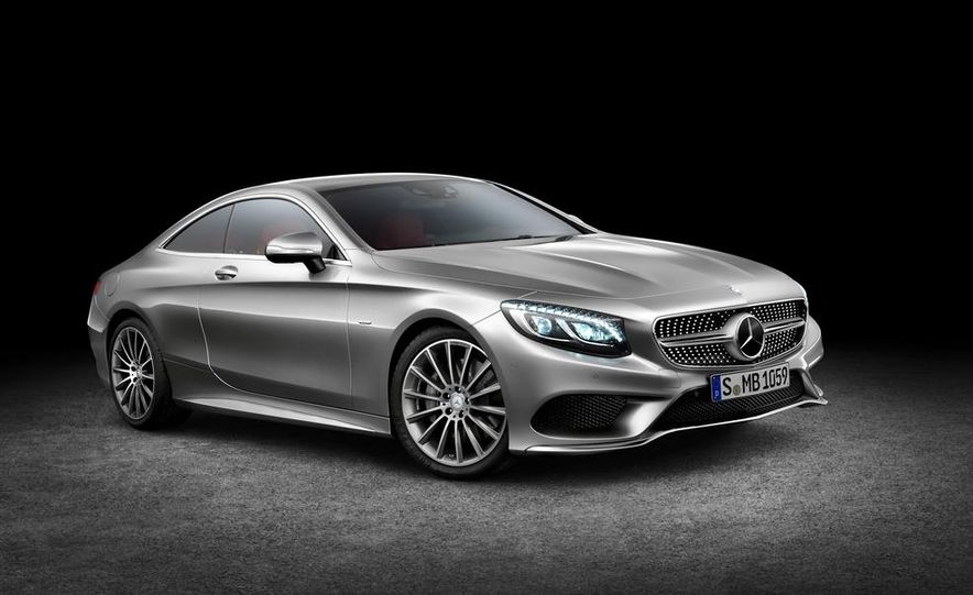 2015 Mercedes-Benz S500 4MATIC coupe - Slide 16