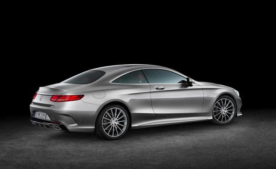 2015 Mercedes-Benz S500 4MATIC coupe - Slide 18