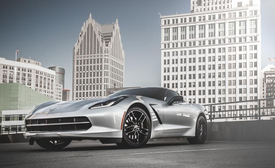 2014 Chevrolet Corvette Stingray coupe Z51 - Slide 50