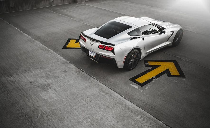2014 Chevrolet Corvette Stingray coupe Z51 - Slide 52
