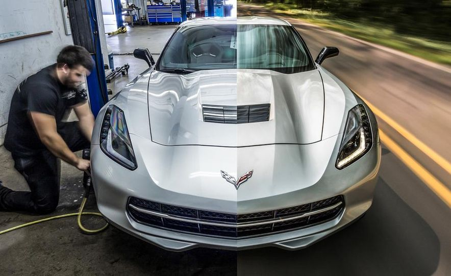 2014 Chevrolet Corvette Stingray coupe Z51 - Slide 1
