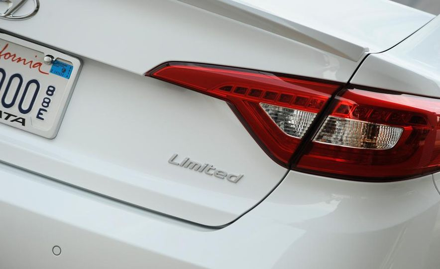 2015 Hyundai Sonata 2.4L Limited - Slide 13