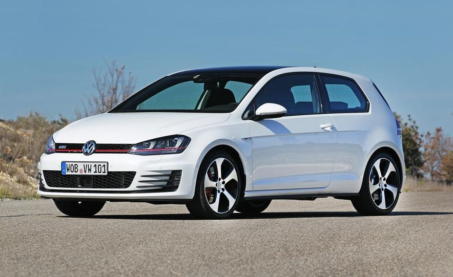 2015 Volkswagen GTI 5-door - Slide 23