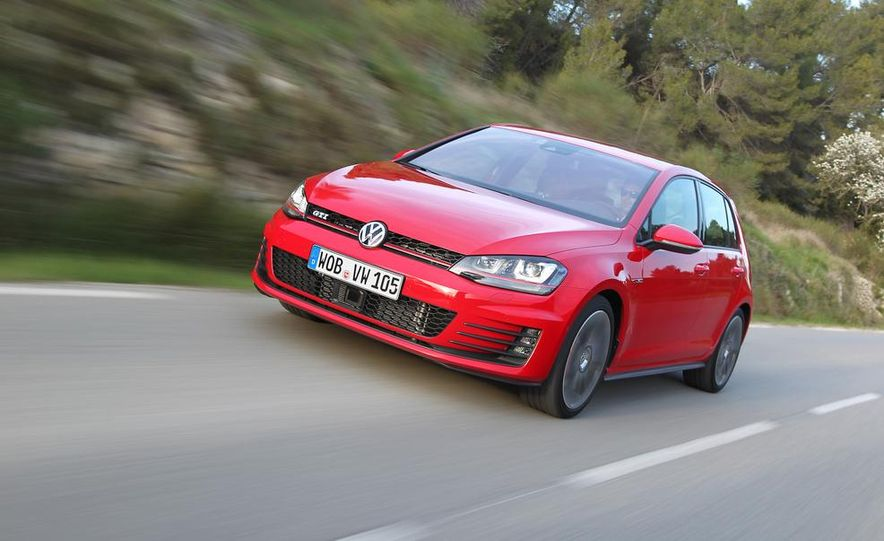 2015 Volkswagen GTI 5-door - Slide 1