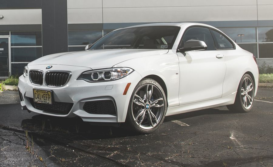 BMW Mi With Manual Tested Review Car And Driver - 2014 bmw m235i