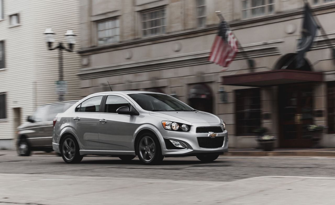 2014 Chevrolet Sonic 1.4T Sedan Manual Test – Review – Car and Driver