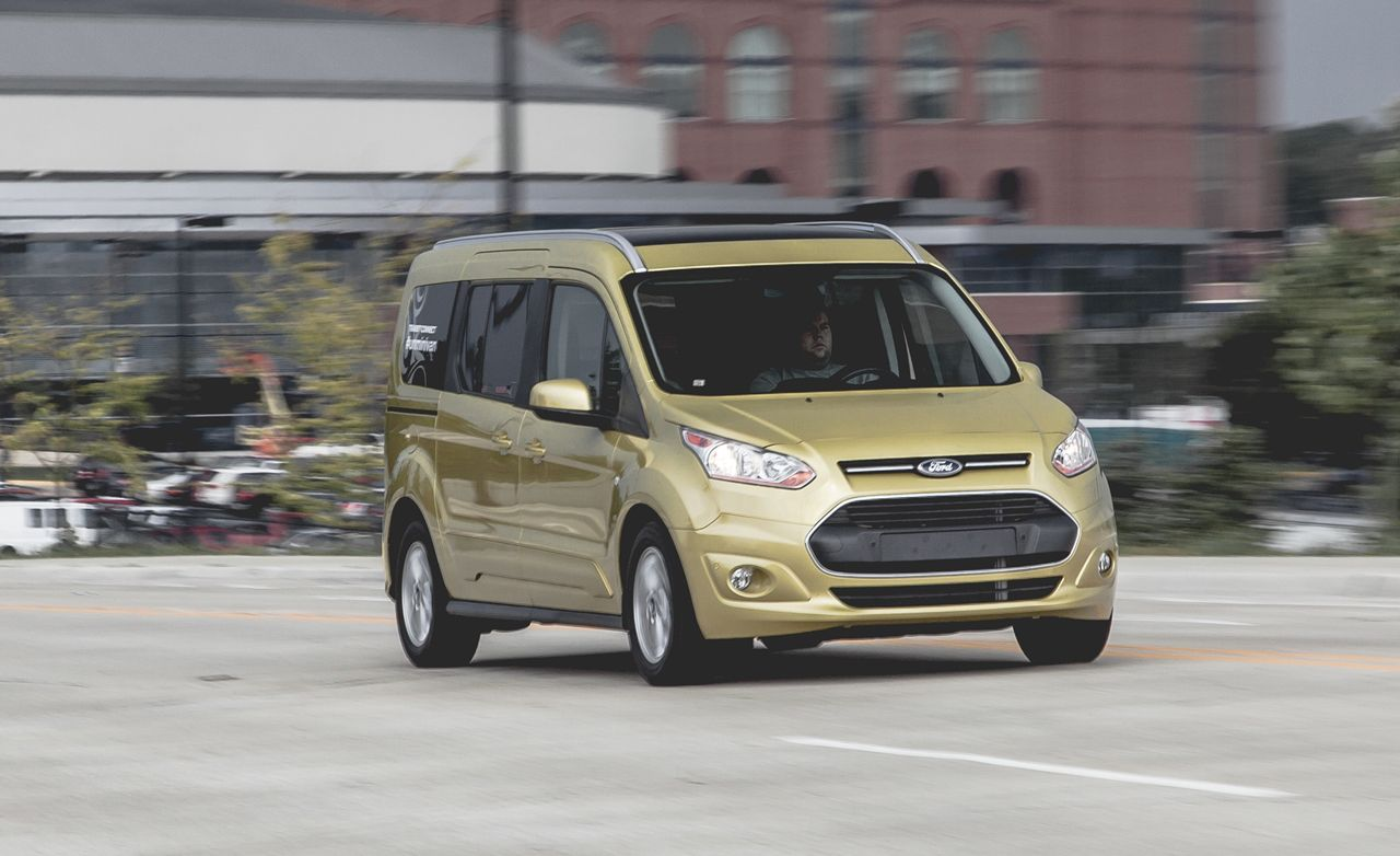 2014 ford transit connect 25 lwb test review car and driver
