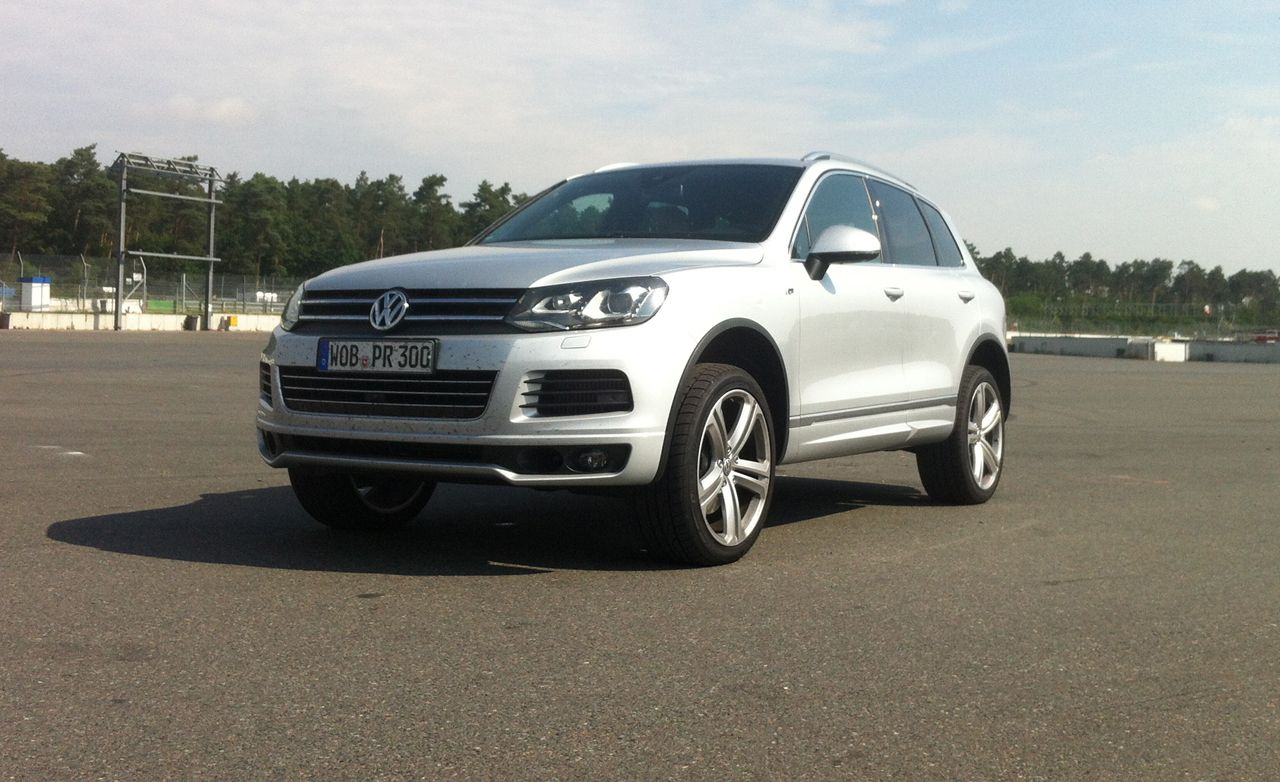 2014 volkswagen touareg v 8 tdi first drive review car and driver. Black Bedroom Furniture Sets. Home Design Ideas