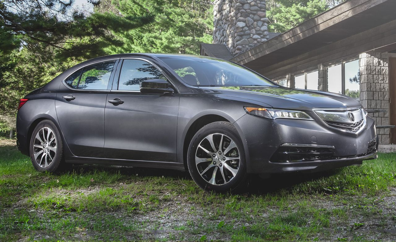 2015 Acura Tlx 2 4l Test Review Car And Driver