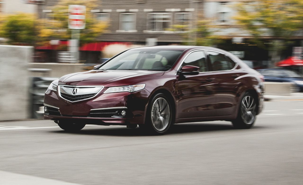 2015 Acura Tlx 3 5 V 6 Fwd Test 8211 Review 8211 Car And Driver