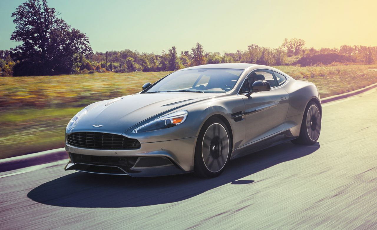 2015 Aston Martin Vanquish Test  Review  Car and Driver