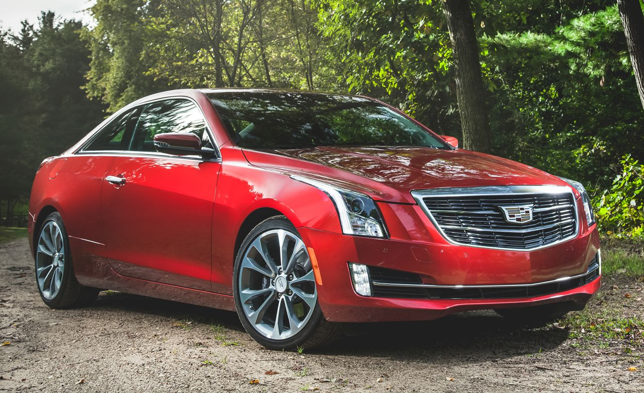 2019 Cadillac Ats Reviews Price Photos And Specs Car Driver