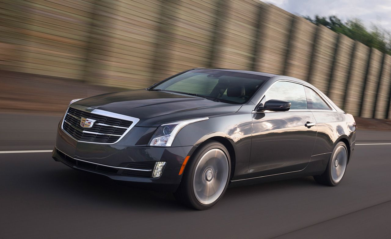 2015 Cadillac Ats First Drive Review Car And Driver