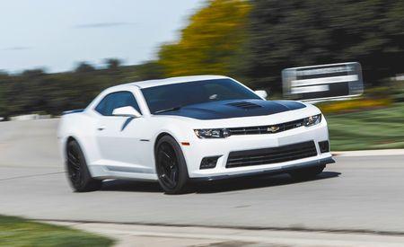 2015 Chevrolet Camaro Zl1 Test Review Car And Driver