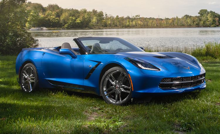2015 Chevrolet Corvette Stingray Convertible Eight-Speed Automatic
