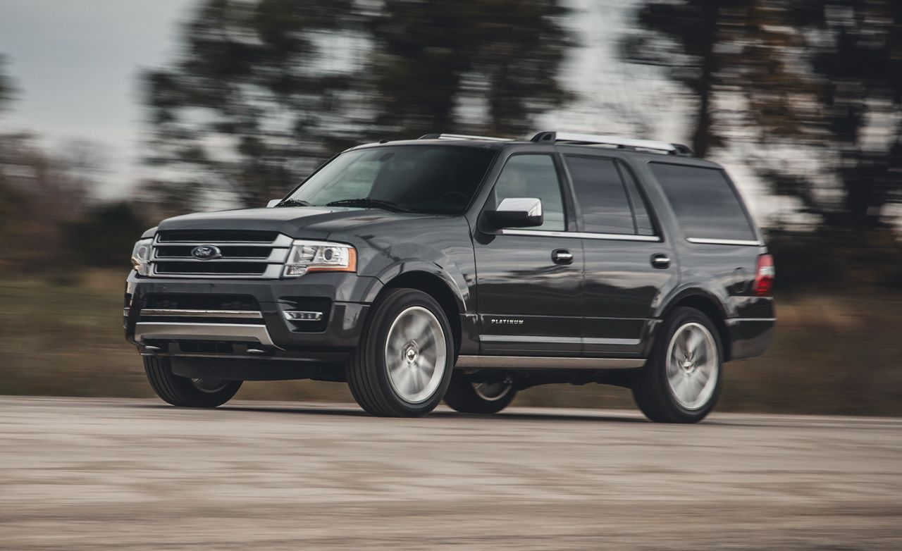 2015 ford expedition ecoboost test review car and driver
