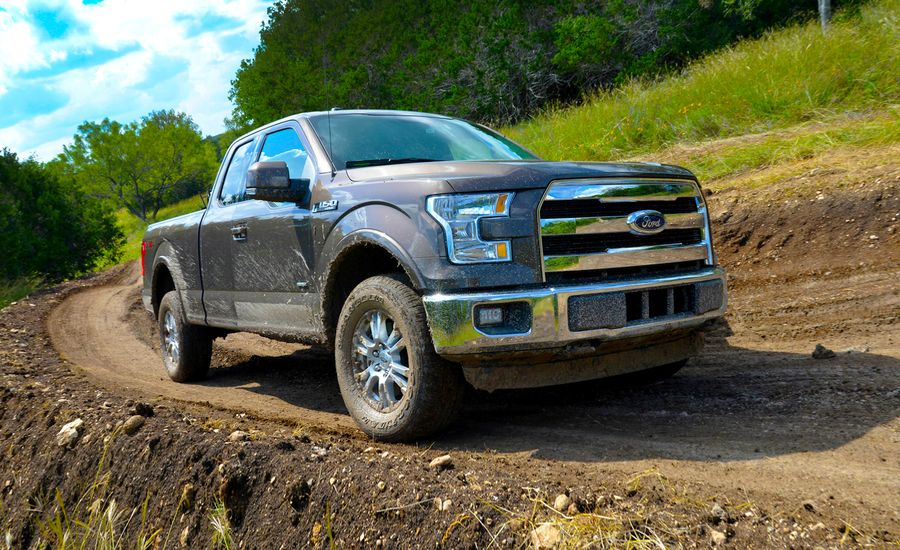 2015 ford f 150 first drive review car and driver. Black Bedroom Furniture Sets. Home Design Ideas