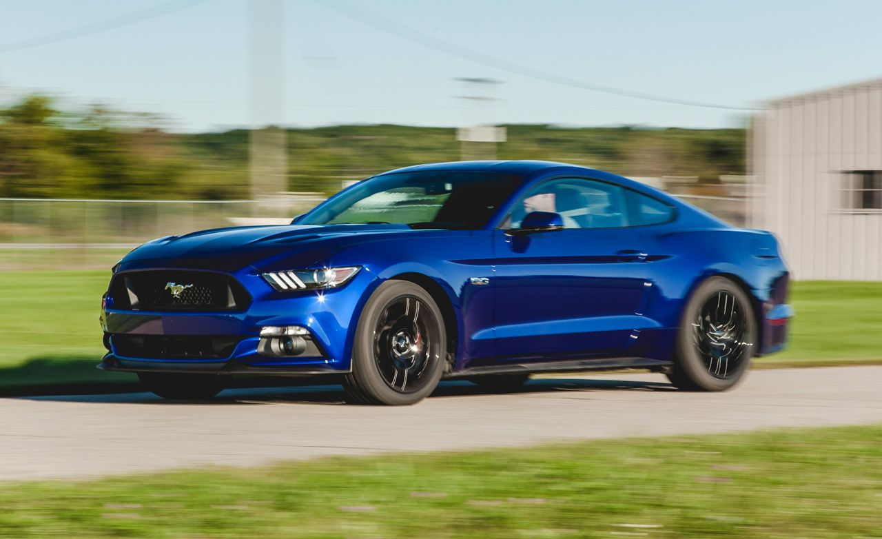 2015 ford mustang gt instrumented test review car and. Black Bedroom Furniture Sets. Home Design Ideas