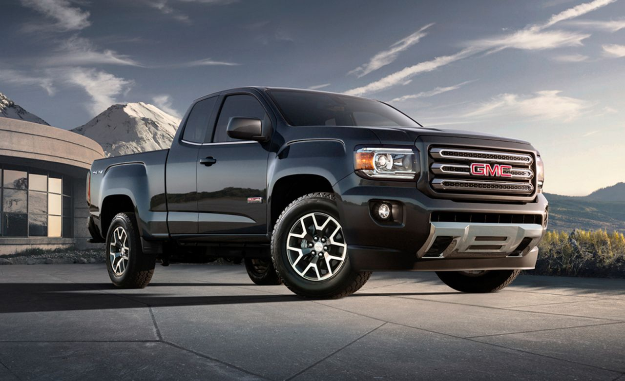 2019 Gmc Canyon Reviews Gmc Canyon Price Photos And Specs Car