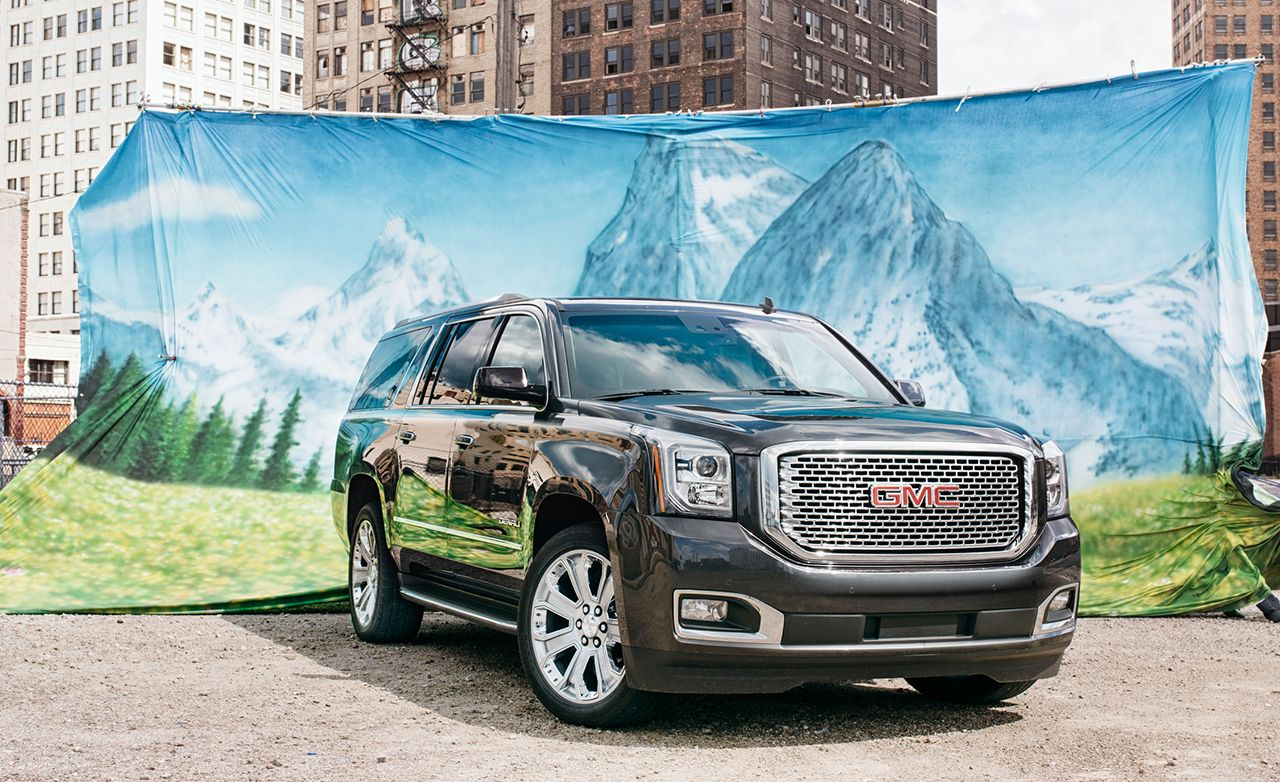 2015 Gmc Yukon Xl Denali 4wd Long Term Wrap Review Car And Driver