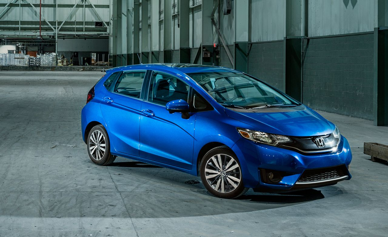 2015 Honda Fit EX Manual