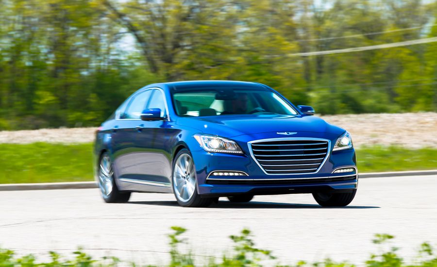 Genesis G80 2016 Meet Hyundai S Perception Of Luxury: 2015 Hyundai Genesis 5.0 Test